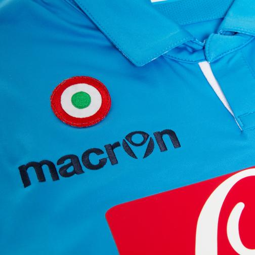 Macron Maillot De Match Europa League Naples   14/15 LIGHT BLUE Tifoshop