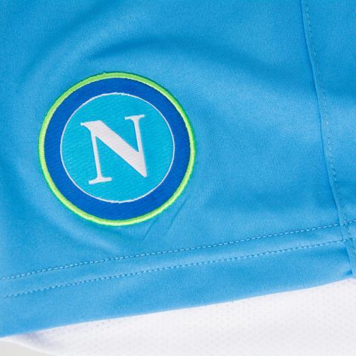Macron Shorts Europa League Naples   14/15 LIGHT BLUE Tifoshop