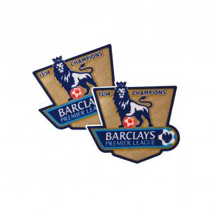 2 PATCH CHAMPIONS PREMIER LEAGUE TEAM 2013/14