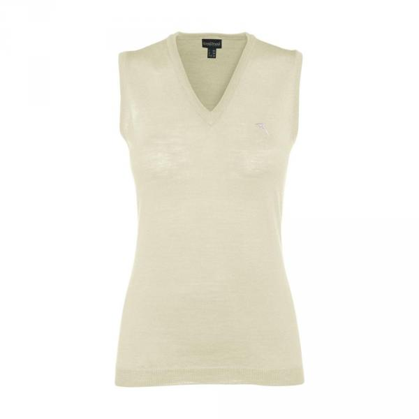 Vest Woman NICKEL 55836 CREAM Chervò