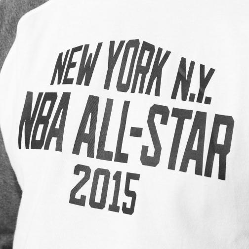 Adidas T-shirt As Shooter All Star Nba Grigio Bianco Tifoshop