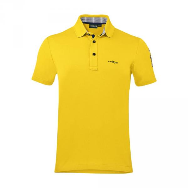 Polo Homme AUDE 57083 Yellow Chervò