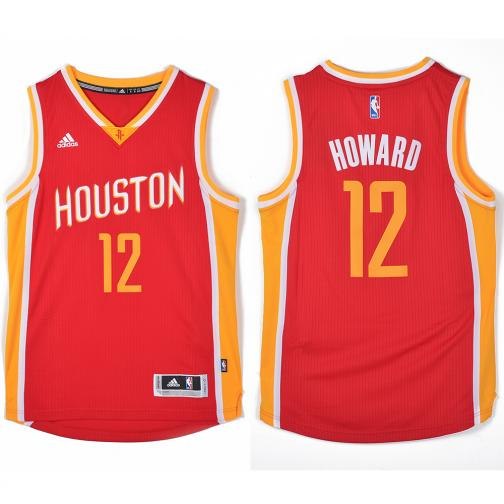Adidas Canotta Swingman Houston Rockets  Dwight Howard 14/15 Rosso