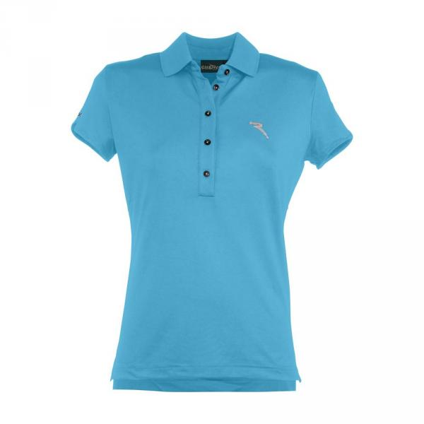 Poloshirt Damen ACINO 57357 SURF LIGHT BLUE Chervò