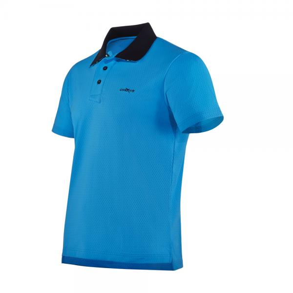 Polo Uomo ACTUAL 57254 CELESTE SURF Chervò