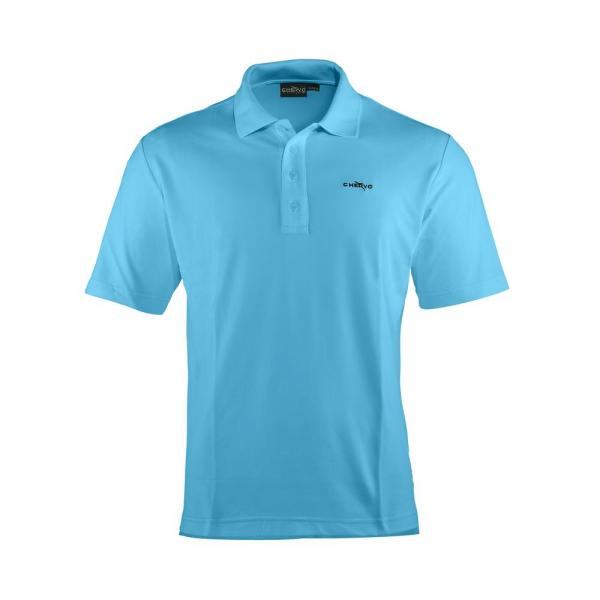 Poloshirt Herren ABEZ T5459 SURF LIGHT BLUE Chervò