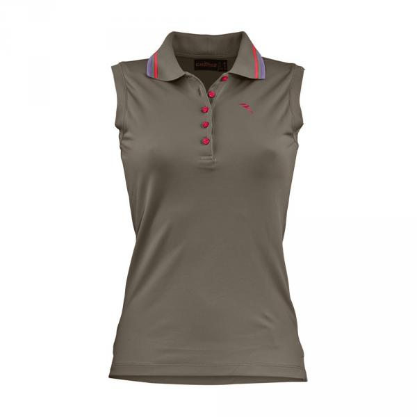 Polo Woman AIBANEW 56719 CAROB BROWN Chervò
