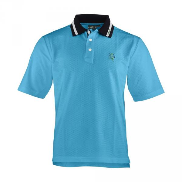 Polo Homme AKIMBO 57256 SURF LIGHT BLUE Chervò