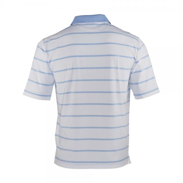 Poloshirt Herren ALTEZZA 57333 White Light Blue Chervò
