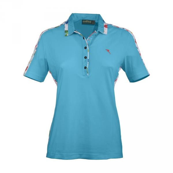 Polo Femme ANACLETA 57301 SURF LIGHT BLUE Chervò