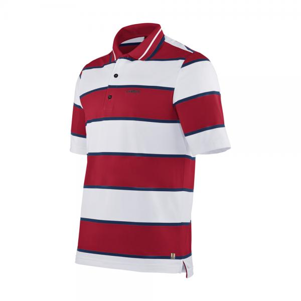 Polo Homme ANDREINO 57275 White Red Chervò