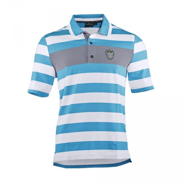 Poloshirt Herren ANTONINO 57274 White Light Blue Chervò