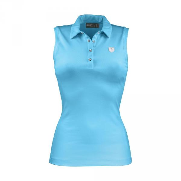 Poloshirt Damen ARIANNA 57296 SURF LIGHT BLUE Chervò