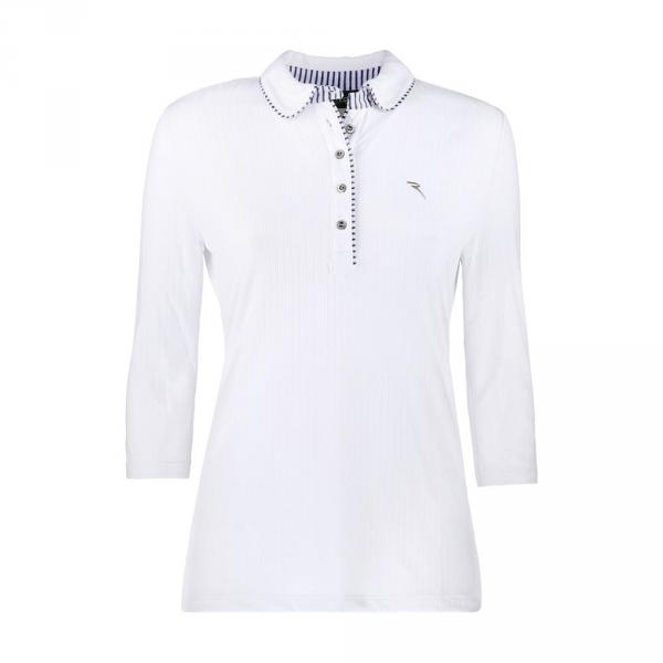 Poloshirt Damen ARMISO 57251 Blue White Chervò