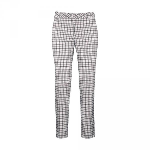 Pantalon Femme SOSSOLA 57351 White Blue Chervò