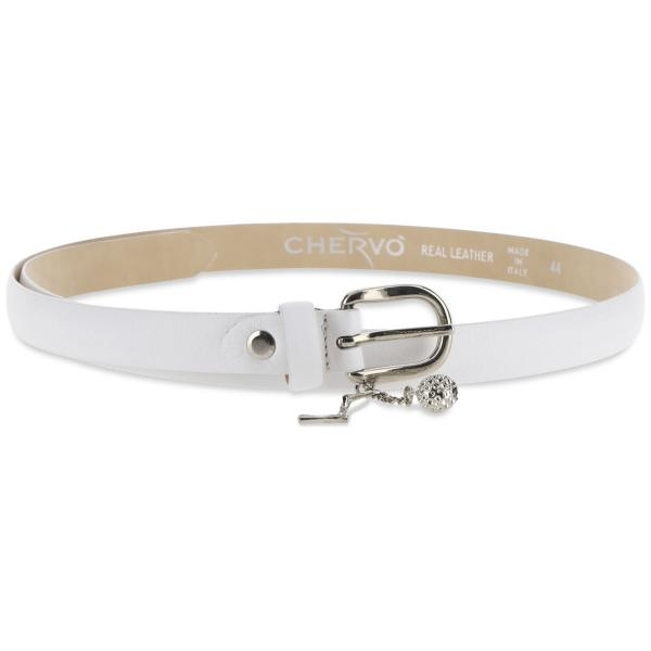 Belt Woman UCHARMS 57439 WHITE Chervò