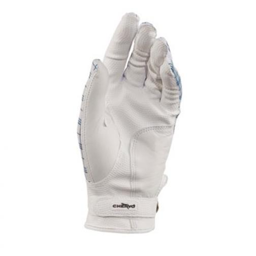 Gloves Woman XCHECKS 57412 White Blue Chervò