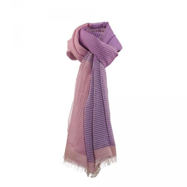 Echarpe Femme YWAR 57446 Lilac Pink Chervò