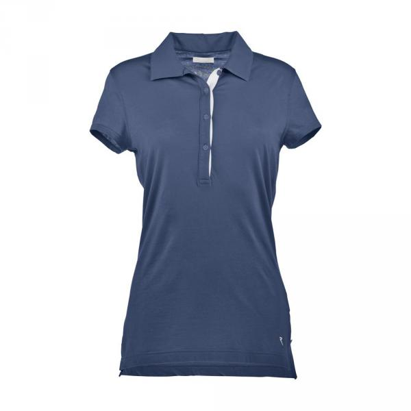 Poloshirt Damen AMIGA 57199 NAUTIC BLUE Chervò