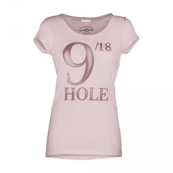 T-shirt Damen LINKS 57175 CAMELIA PINK Chervò