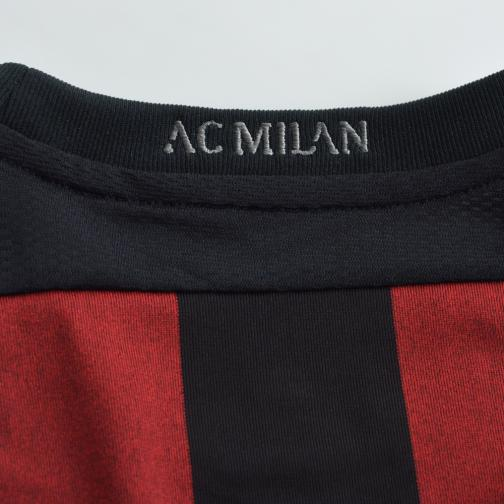 Adidas Maillot De Match Home Milan   15/16 RED AND BLACK Tifoshop
