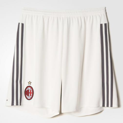 Adidas Shorts Home Milan Juniormode  15/16 White