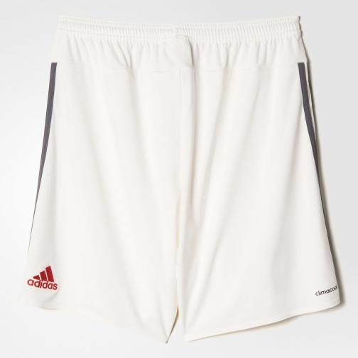 Adidas Shorts De Course Home Milan   15/16 White Tifoshop