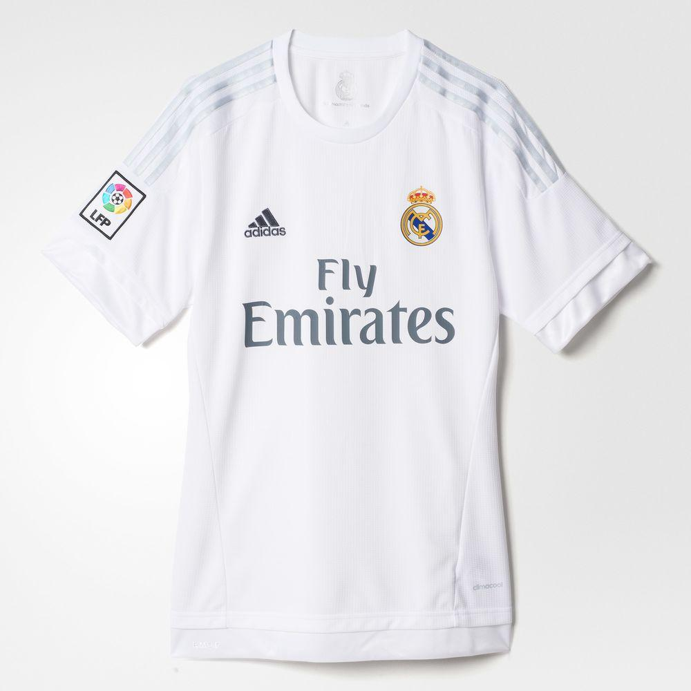 Adidas Maillot De Match Home Real Madrid Enfant  15/16