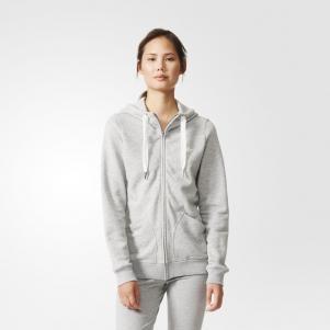 Adidas Originals Felpa La Slim Fz Hoody Winterized  Donna