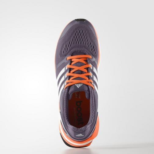 Adidas Schuhe Adistar Boost Esm  Damenmode Ash Purple / White / Solar Orange Tifoshop