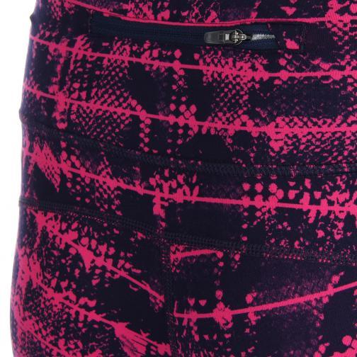 Nike Shorts Epic Run Printed Capri  Femmes Pink Tifoshop