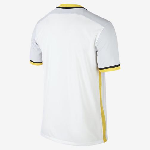 Nike Maglia Gara Home & Away Losc Lille   15/16 Bianco Nero Tifoshop