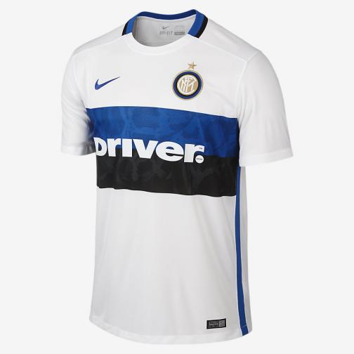 Nike Maillot De Match Away Inter   15/16 FOOTBALL WHITE/ROYAL BLUE
