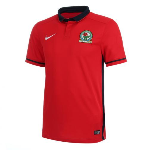 Nike Maglia Gara Away Blackburns Rovers   15/16 Rosso Tifoshop