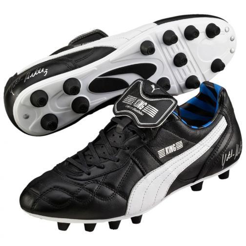 Puma Chaussures De Football King Lothar Matthäus black-puma silver-blue