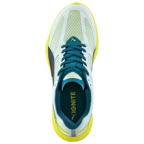 Puma Chaussures Ignite Mesh Wn's  Femmes clearwater-poseidon-sulphur spring Tifoshop