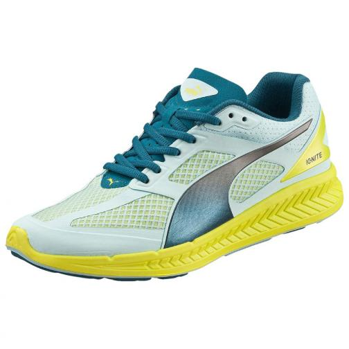 Puma Chaussures Ignite Mesh Wn's  Femmes clearwater-poseidon-sulphur spring