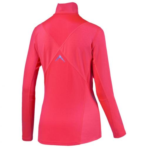 Puma T-shirt Nightcat Pwrwarm L/s W  Damenmode fiery coral Tifoshop