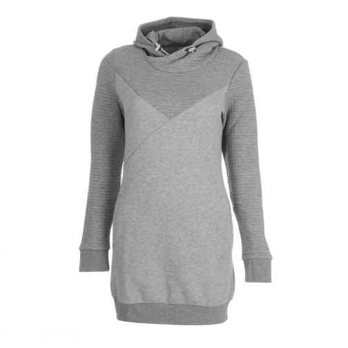 Puma Sweat Quilted Sweat Dress  Femmes athletic gray heather Tifoshop