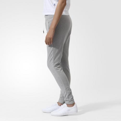 Adidas Originals Pantalone Slim Tp Ft  Donna Grigio Tifoshop