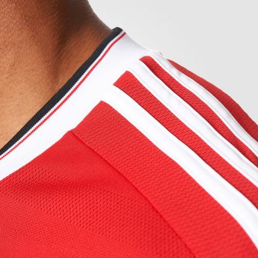 Adidas Maglia Gara Home Manchester United   15/16 Rosso Bianco Tifoshop