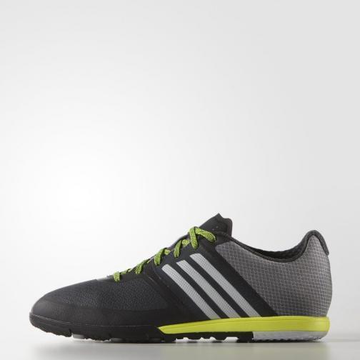 Adidas Futsal-schuhe Ace15.1 Cg Dark Grey / Clear Grey / Solar Yellow