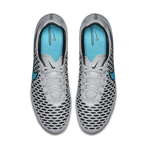 Nike Chaussures De Football Magista Orden Fg Grey Turquoise Tifoshop