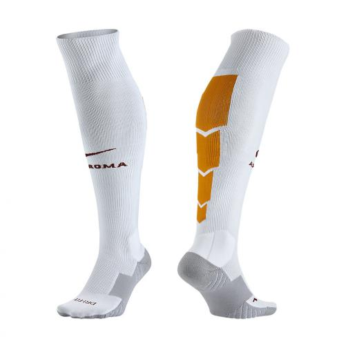 Nike Chaussettes De Course Home & Away Roma   15/16 White