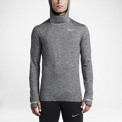 Nike Maillot Dri-fit Element Grey