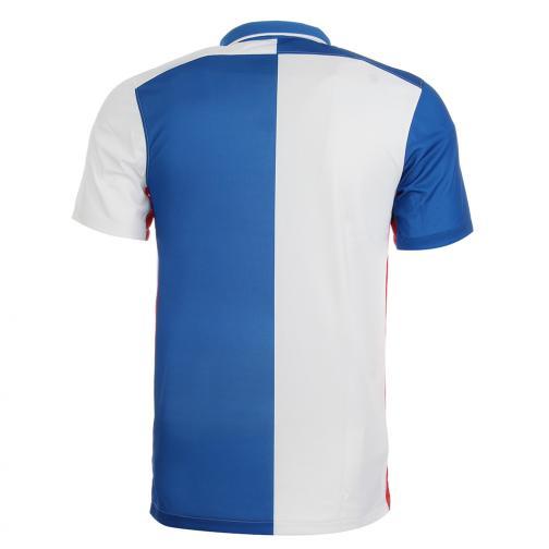 Nike Maglia Gara Home Blackburns Rovers   15/16 Blu Bianco Tifoshop