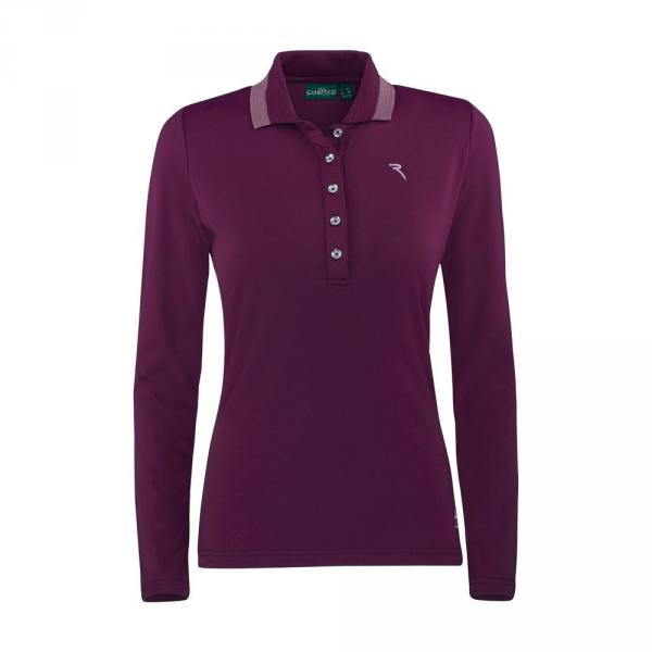 Polo Woman ALUFER 57548 RUBY RED Chervò