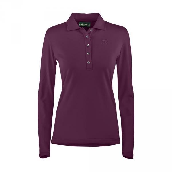 Polo Femme ANDALE 57547 RUBY RED Chervò