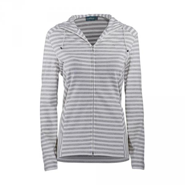 Sweatshirt Damen PIANTANA 57610 Light Blue Grey Chervò