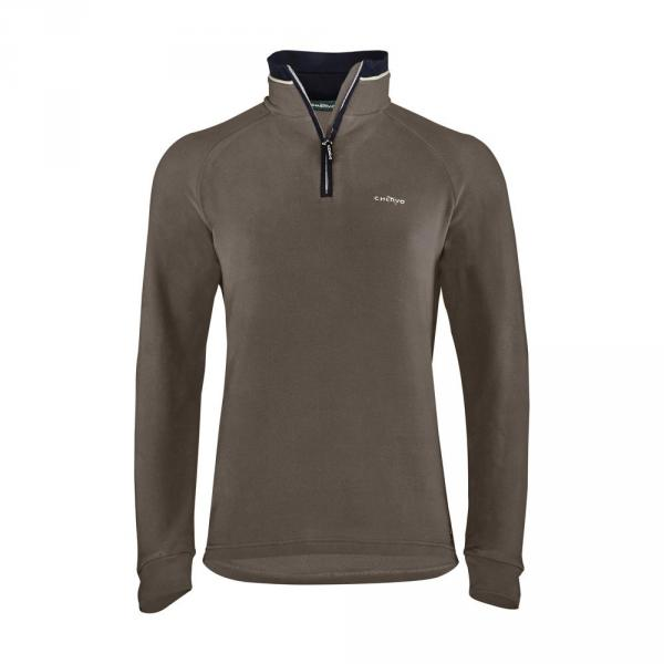 Sweat Homme PITOCOLA 57597 MUD BROWN Chervò